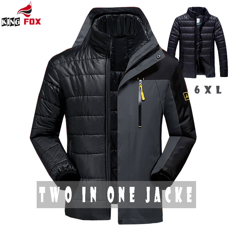 ФОТО Men`s Casual jacket Warm Winter Jacket Men/women Coat Thick Parka Men outwear brand Clothing size 5XL,6XL parka men coat