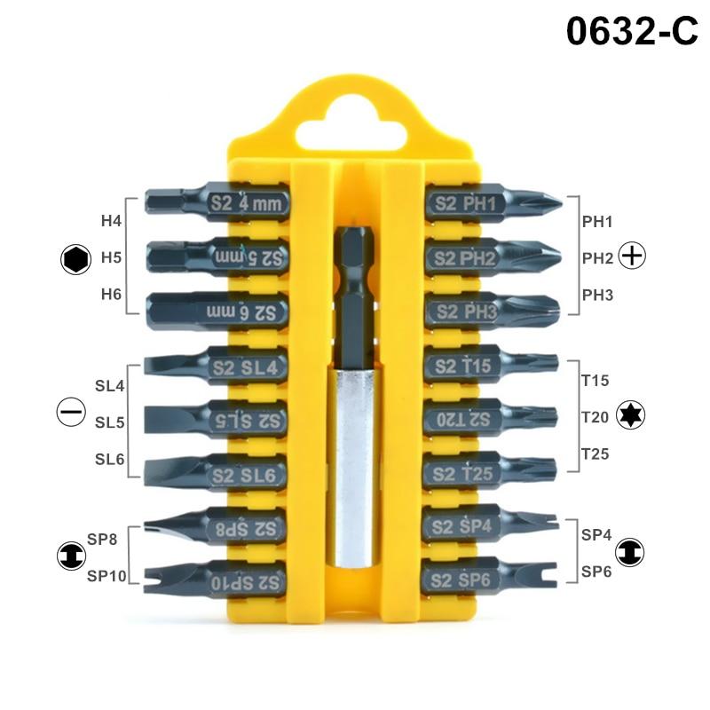 Juego de destornilladores de 17 piezas Destornillador eléctrico S2 - Herramientas manuales - foto 4