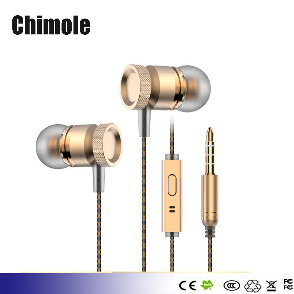 100pcs metal bass earbuds Microphone Stereo Bass earphones for Samsung Huawei Xiaomi piston Sport earphone With Microphone кий для пула 1 рс stella натуральный