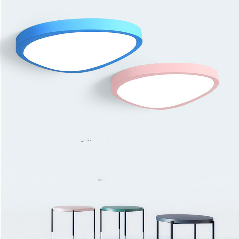 LED ceiling mango Ma Caron bedroom living room lamp, dining room aisle study room dimmable ceiling lighting modern led ceiling lamp aisle simple living room porch balcony study room long lamp
