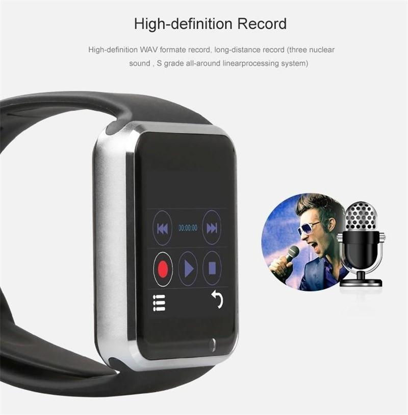 Popularni Smart Watch A1 W8 s fotoaparatom s sim karticom Bluetooth - Pametna elektronika - Foto 3