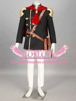 High Quality Custom Made Ace Cosplay Costume from Final Fantasy Type 0 Plus Size (S 6XL)