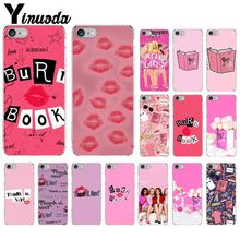 цена на Yinuoda Burn Book Mean Girls Kiss DIY Printing Phone Case cover Shell for Apple iPhone 8 7 6 6S Plus X XS MAX 5 5S SE XR Cover