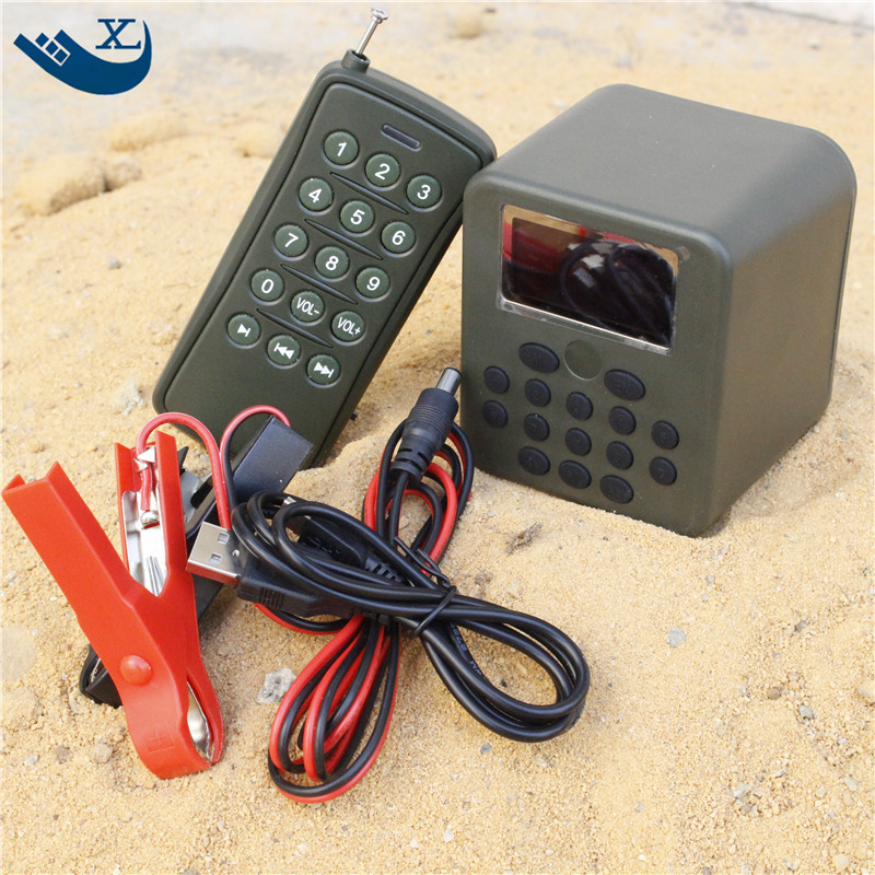 Remote Controller 1 50w Loud Speaker Device Yard Garden font b Hunting b font Duck Goose