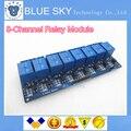 1 PÇS/LOTE 5 V 8-Channel Módulo de Relé Board para Arduino AVR MCU PIC ARM DSP Eletrônico Melhor preço de 8 Canais Módulo de relé