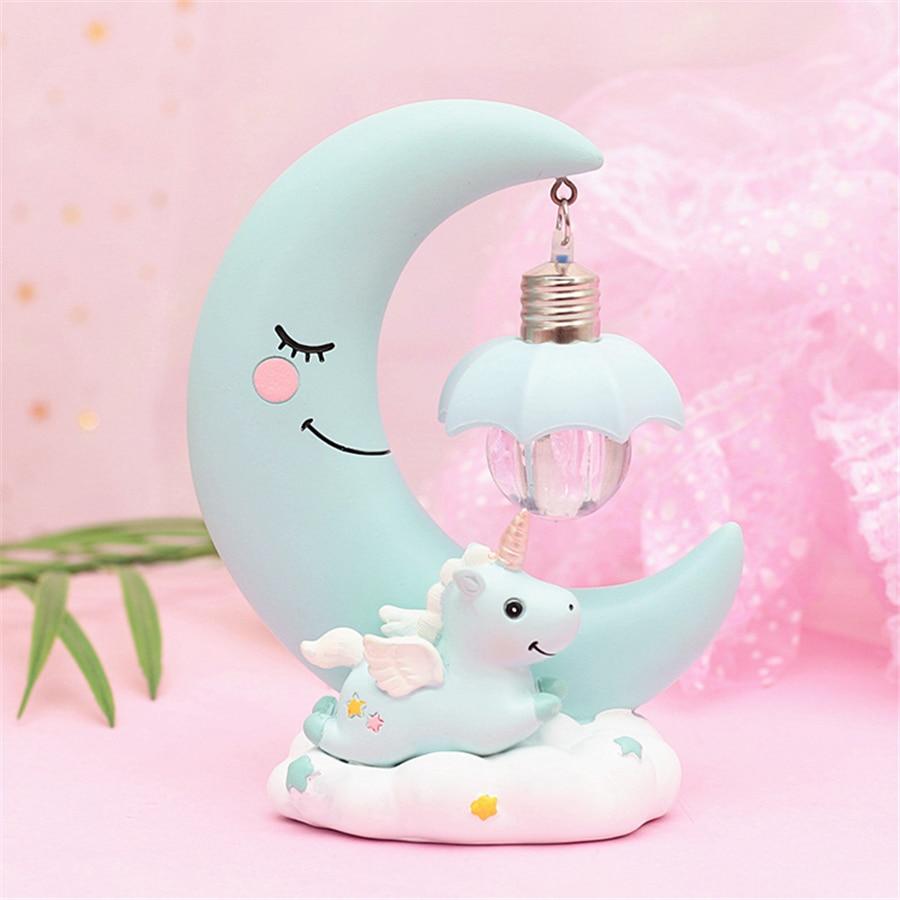 Kawaii Unicorn Moon Lamp Limited Edition Kawaiitherapy