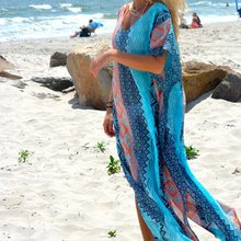 Beach Dress Kaftan Beach Sarongs Sexy Cover-Up Chiffon Bikini Swimwear Tunic Swimsuit Bathing Suit Cover Ups Pareo