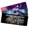 800*300*3mm L grande De Goma Juego Mousepad Gaming mouse pad teclado para gamer Overwatch anime OW antideslizante gruesa