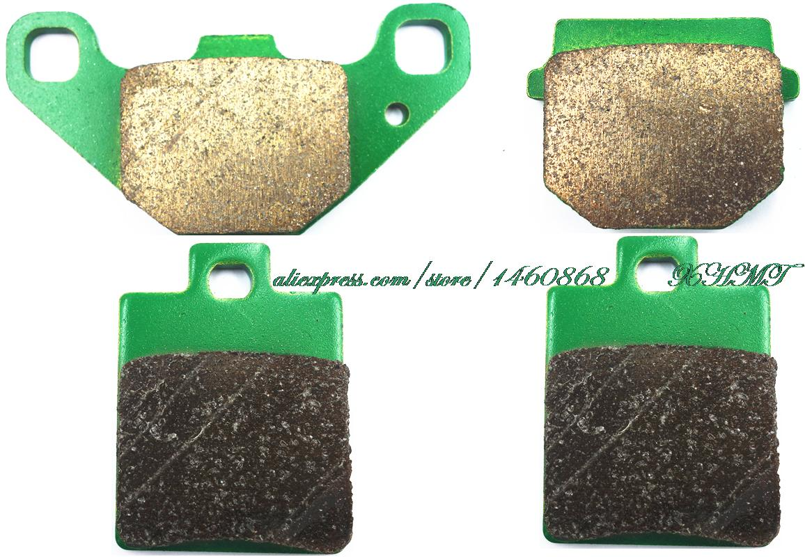 Brake Pads Set For Piaggio Ngr50 Ngr 50 Power Dd / Silver Bullet 2005 & Up/ Power Pure Jet 2004 2006 2007 2008 2009 005 2010