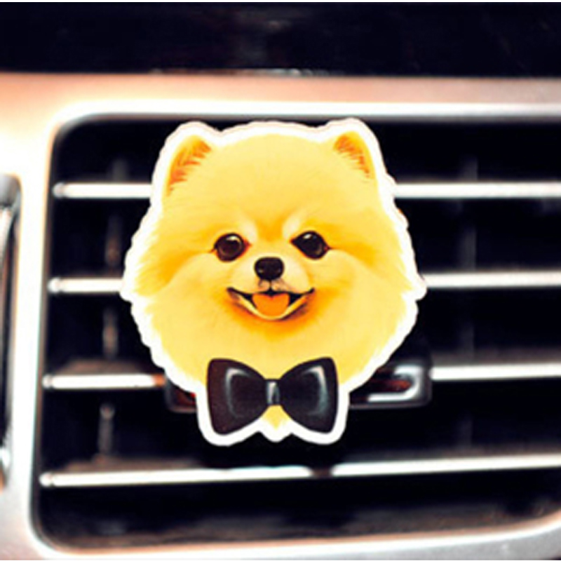 Anzulwang прекрасный Товары для собак фурмы клип милые yakeli собака Освежители воздуха удаления запаха воздуха на выходе автомобилей Духи Авто Ин...