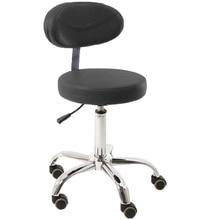 Modern Adjustable Swivel Salon Massage Spa Seat Tattoo Medical Chair Stool Leather Seat and Back Massage Swivel Chair Furniture