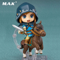 Nendoroid#733 DX Deluxe Ver The Legend of Zelda: Breath of the Wild Link Anime Figures Hair Up Gift Toys For Children