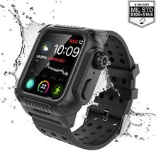 For Apple iWatch Series 4 44mm Case Daily Life Waterproof Watch Shockproof Band Strap Sport Cover 40mm