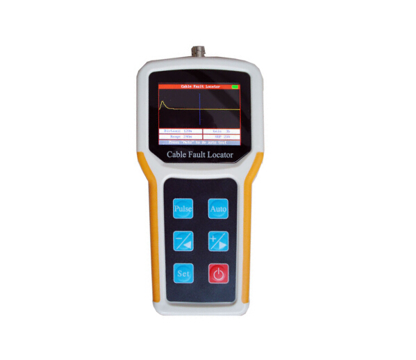 Handheld  Waveform Display Cable Fault Locator Power Cable BNC Communication Cable TDR CFL Break Cross Short Circuit Tester