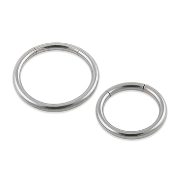 New Arrival  Surgical Steel Segment Ring Nose Rings Captive Ring  Body Piercing Jewelry  Septum Clicker On Jewelry Free shipping body jewelry
