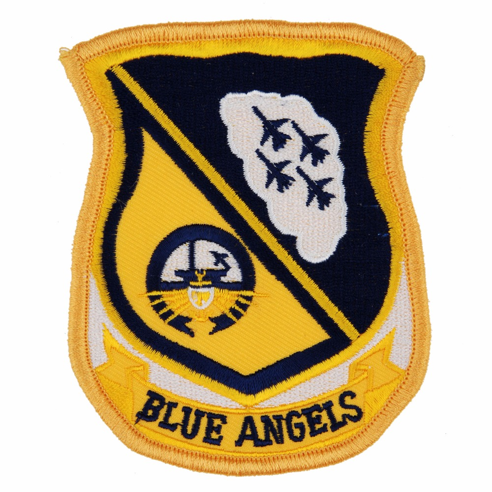 UNITED STATES US NAVY BLUE ANGELS EMBROIDERED PATCH