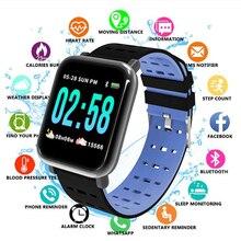 Smart Watch Men Women Blood Pressure Heart Rate Monitor Sports Fitness Tracker Waterproof Smartwatch