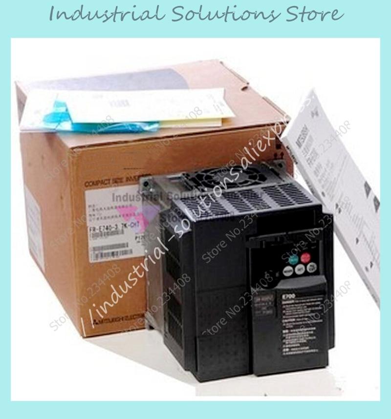 все цены на Input 3 ph 220V Output 3 ph Frequency Converter Inverter FR-E720-0.75K 200~240V 4.1A 0.2~400Hz New онлайн
