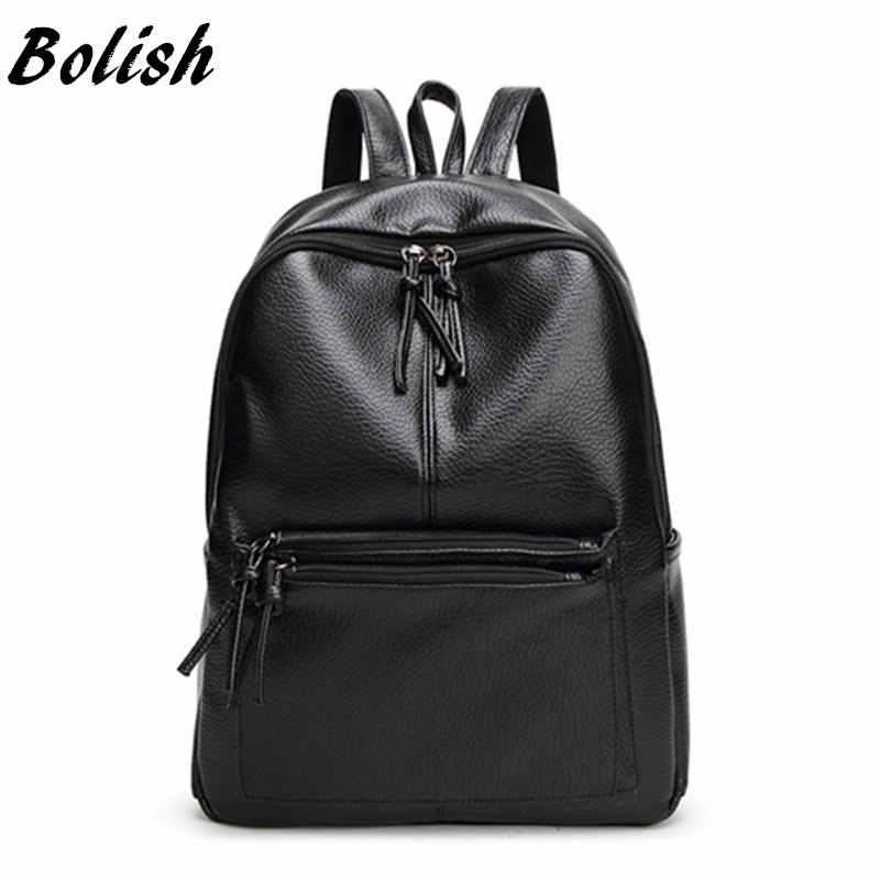 225bd015cb91 Подробнее Обратная связь Вопросы о Bolish новый рюкзак для путешествий  корейский женский рюкзак для отдыха Студенческая школьная сумка мягкая из  ...