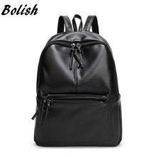 Bolish New Travel Backpack Korean font b Women b font Female font b Rucksack b font