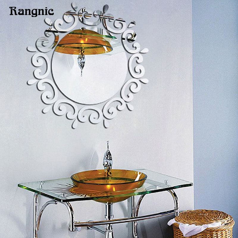 Rangnic 25pcs Adhensive acrylic plexiglass mirror Morden ...