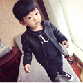 kids tops child autumn spring clothes Children Jacket for Baby Boys Outerwear Children's PU Leather Coat