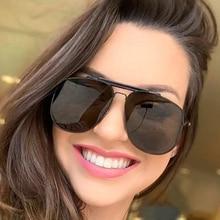 PAWXFB 2019 Fashion Pilot Sunglasses Women Men Shades UV400 Sun Glasses Luxury