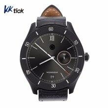 KKTICK Personalizar K22 1.3 Polegada Android Relógio Inteligente MTK6572 1g ROM + 8g RAM GPS WIFI Bluetooth assista construído em Google APP Software