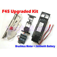 MJX F45 F645 F 45 Spare Parts BRUSHLESS Motor System And 2600mah Battery Perfect Match