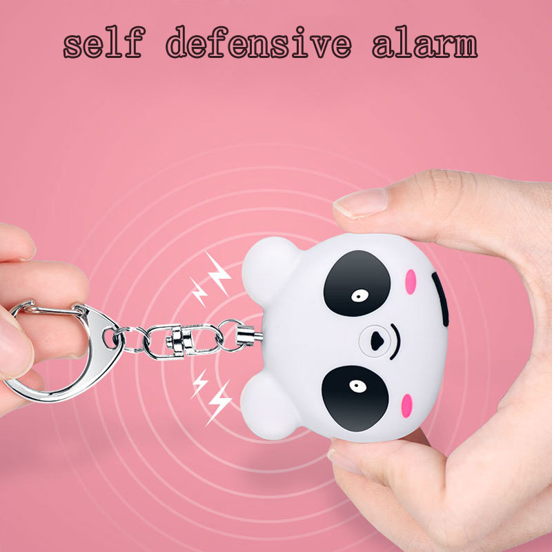 Portable Keychain 130dB SOS Self Defense Safety Alarms Personal Emergency Alarms for Kids/ Women/Elder man Best gift