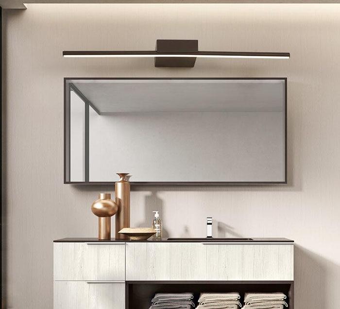 Simple Modern LED Mirror Wall Lamp Bathroom Mirror Cabinet Lighting ...