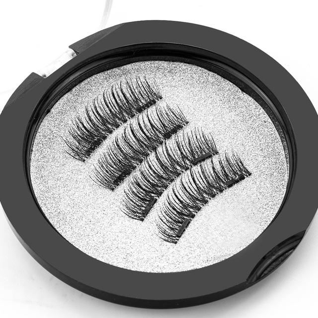 6D Natural Handmade Magnetic Eyelash Extensions
