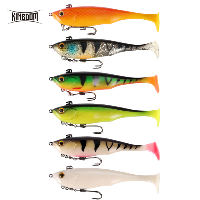 Kingdom Fishing Lure Soft Bait 170mm 55g Wobblers Multiple Applications Sinking Action Artificial Soft Lures PVC 8803 3