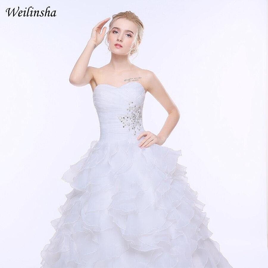 Lace Cap Sleeve 2017 Plus Storlek Bröllopsklänning Mode V-ring - Bröllopsklänningar - Foto 5