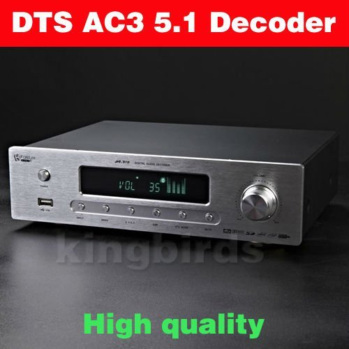 HIGH END DTS AC3 5.1 DIGIT AUDIO DECODER DAC USB Coaxial Optical Analog Pre AMP 100% new