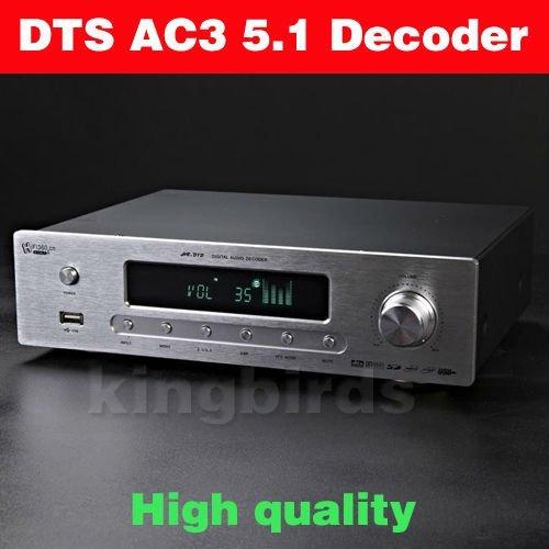 HIGH END DTS AC3 5.1 DIGIT AUDIO DECODER DAC USB Coaxial Optical Analog Pre AMP 100% new