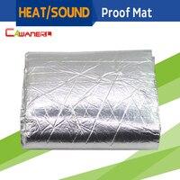 50CM X 100CM Car Truck Boat Heat Proof Sound Shield Insulation Material Mat Noise Control Deadening