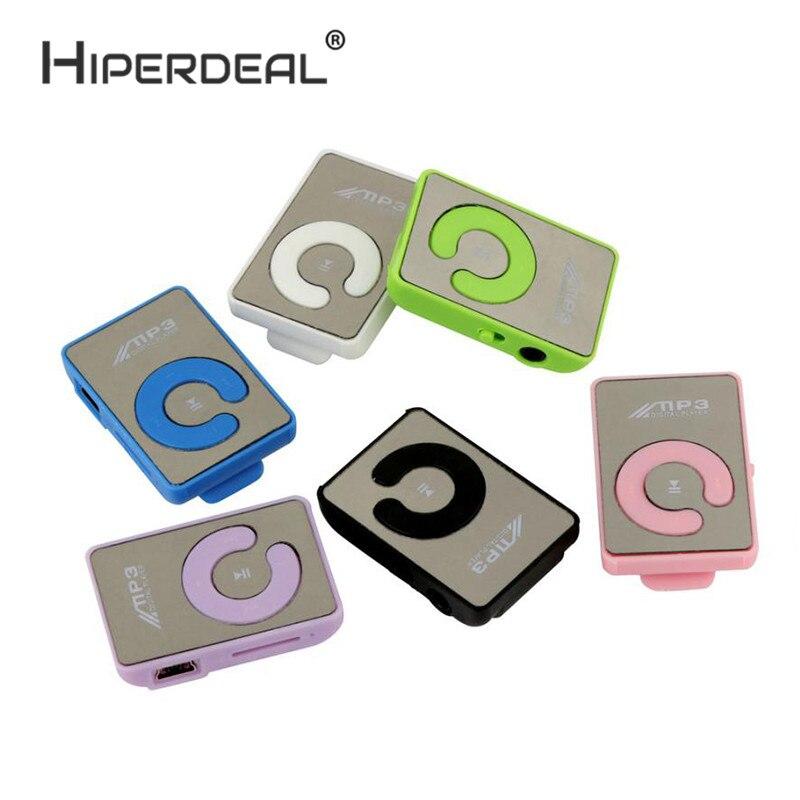 Hiperdeal Мини Клип цветочным узором MP3-плееры Музыка Media Поддержка Micro SD карты памяти моды Музыка Media slick стильный Дизайн 6sp5