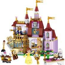 цена на SLPF 441pcs Children Educational Building Blocks Toys Compatible Legoing City Friends Girl Princess Magic Castle Bricks Gift F18