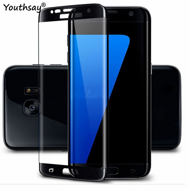 3D Full Glue Screen Protector For Samsung Galaxy S7 Edge Tempered Glass For Samsung Galaxy S7 Edge Glass For Samsung S7 Edge image