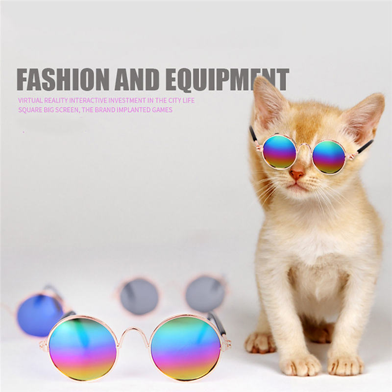 Pet Cat Dog Fashion Sunglasses Uv Sun Glasses Eye Protection Wear Goods For Pets Hot Selling New Arrival Summer Pet Accessary