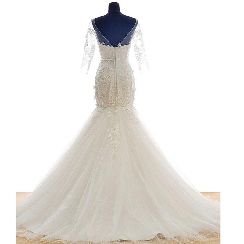 5086911377fd 2016 nytt ord axelhylsa vintage snörning fishtail fairy brud ...