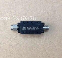 [BELLA] K & L 5ED10-7000/U2200-OP/O 6-8GHZ RF микроволновый ленточный фильтр SMA