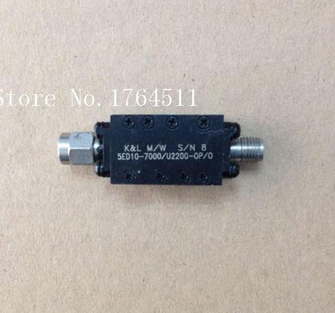 [BELLA] K&L 5ED10-7000/U2200-OP/O 6-8GHZ RF Microwave Bandpass Filter SMA