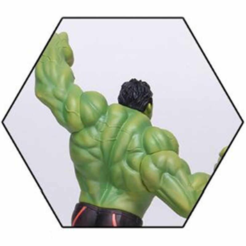 Халк из «невероятных Мстителей» персональный ПВХ фигурка большой Супермен модель игрушки мультфильм подарок украшения коллекционные 20 см L523