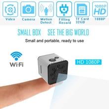 SQ13 HD мини-камера WI-FI Малый камеры cam 1080 P Широкий формат Водонепроницаемый мини видеокамера видеорегистратор Спорт микро видеокамеры SQ 13