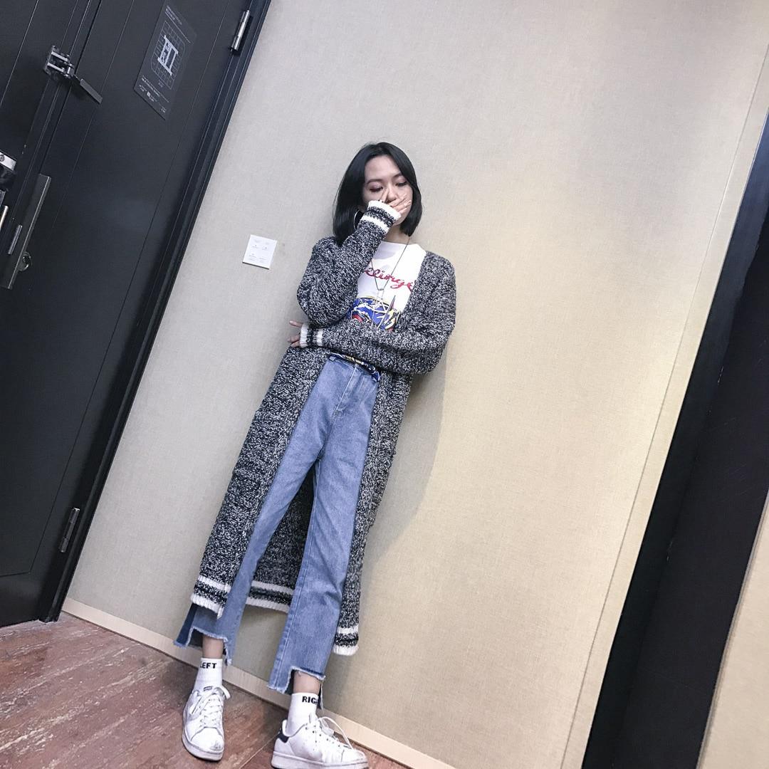 2017 Promotion Sale Polyester Women Sweater Cardigan Women Poncho Retro Contracted Melange Yarn Knitting Big Yards Wrap Sweater