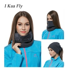Winter Sport Scarf Thickened Hiking Neck Warmer Motorcycle Outdoor Sports Snowboard Hood Hat Cap Ski Face Mask Camping Thermal недорого