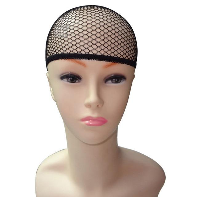 Black Hair Styling Hairnet Women Wigs Stocking Cap Weaving Mesh Net Fishnet Lady Elastic Lines
