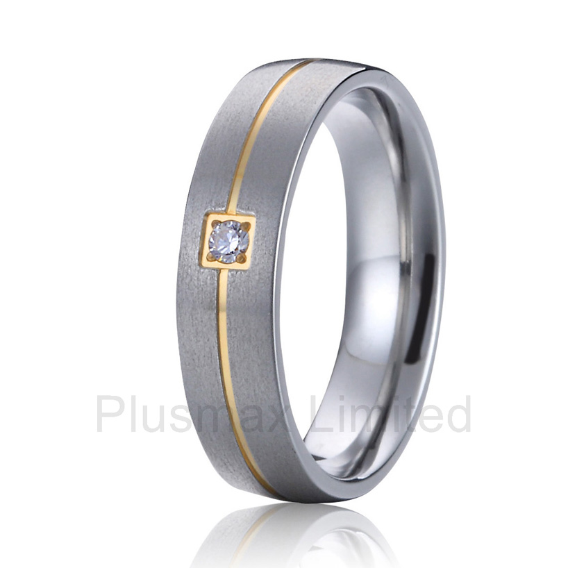 anel feminino ouro western countries engraved lifetime collection titanium jewelry women wedding band promise rings - Country Wedding Rings